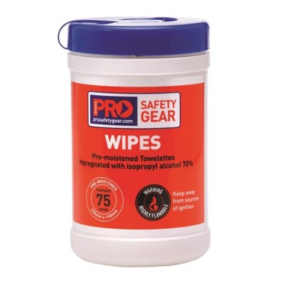 PRO ISOPROPYL WIPES 75 WIPE CANISTER