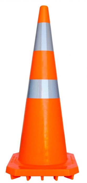 ROAD SAFETY ROAD CONE REFLECTIVE 900MM