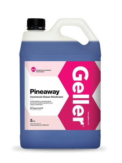 GELLER PINEAWAY COMMERCIAL CLEANER DISINFECTANT 5 LITRE