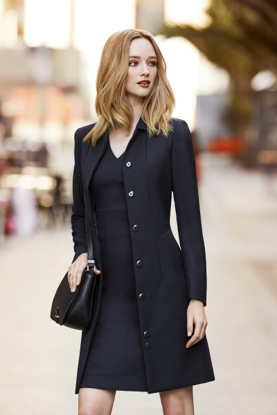 LADIES LINED OVERCOAT