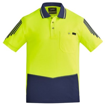 MENS HI VIS FLUX S/S POLO