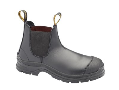 BLUNDSTONE SLIP ON SAFETY BOOT WITH BUMP CAP