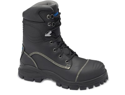 BLUNDSTONE 995 HILEG LEATHER SAFETY BOOT WITH SCUFFCAP