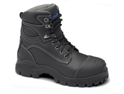 BLUNDSTONE 991 LACE UP SAFETY BOOT WITH SCUFF CAP