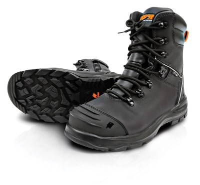 BISON XT LACE UP ZIP SIDE SAFETY BOOT