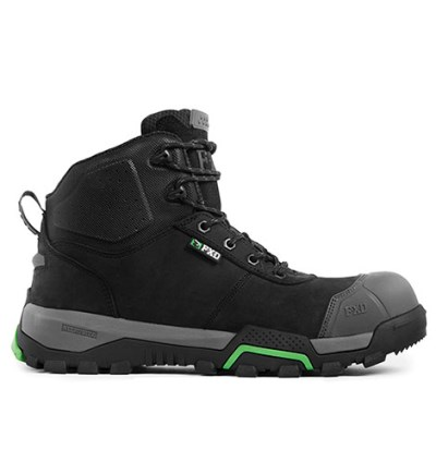 FXD BOOT WB2 ANKLE HEIGHT WITH SCUFF CAP BLACK