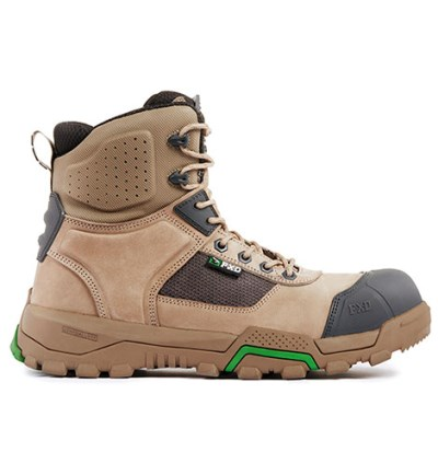 FXD BOOT WB1 ZIP SIDE SIX INCH WITH SCUFF CAP STONE