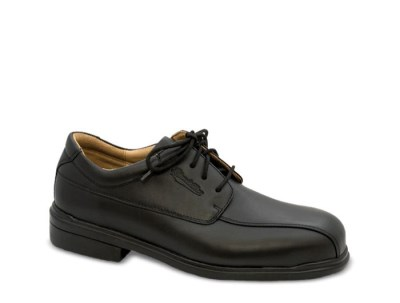 BLUNDSTONE LEATHER LACE UP SAFETY SHOE