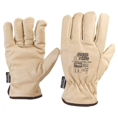 LEATHER RIGGER MATE LINED GLOVE
