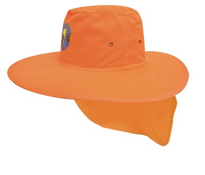 HSZ CANVAS HAT WITH FLAP