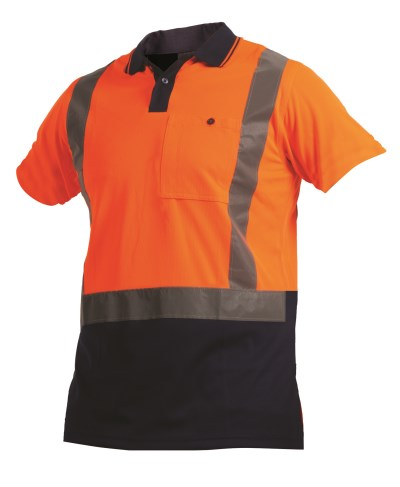 ARGYLE DAY/NIGHT MICROFIBRE POLO