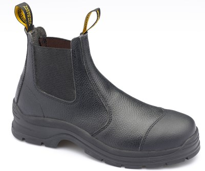 BLUNDSTONE SLIP ON SAFETY BOOT WITH SCRATCH GUARD
