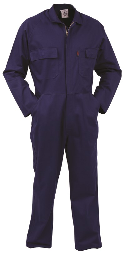 TWZ 100% COTTON 300G ZIP LONG SLEEVE OVERALL